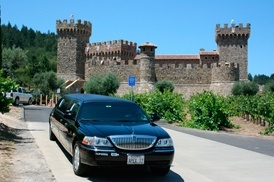 Stop at Castello di Amorosa (castle and a winery near Calistoga)