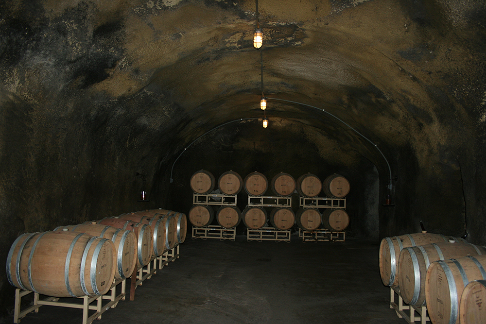 Beringer's Wine Caves
