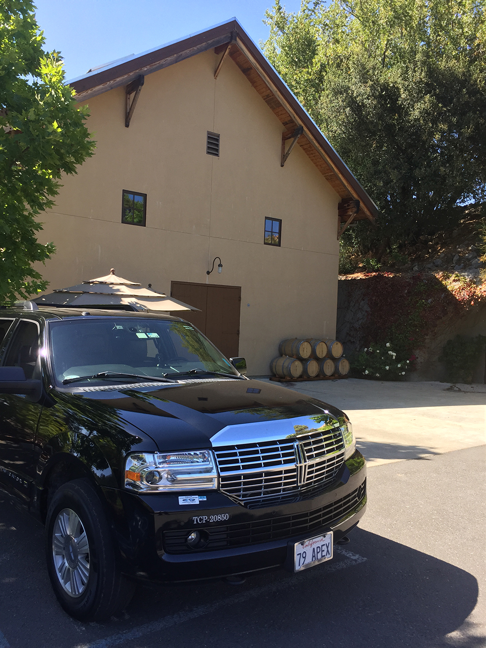 Limousine Wine Tour to Bravante Vineyards