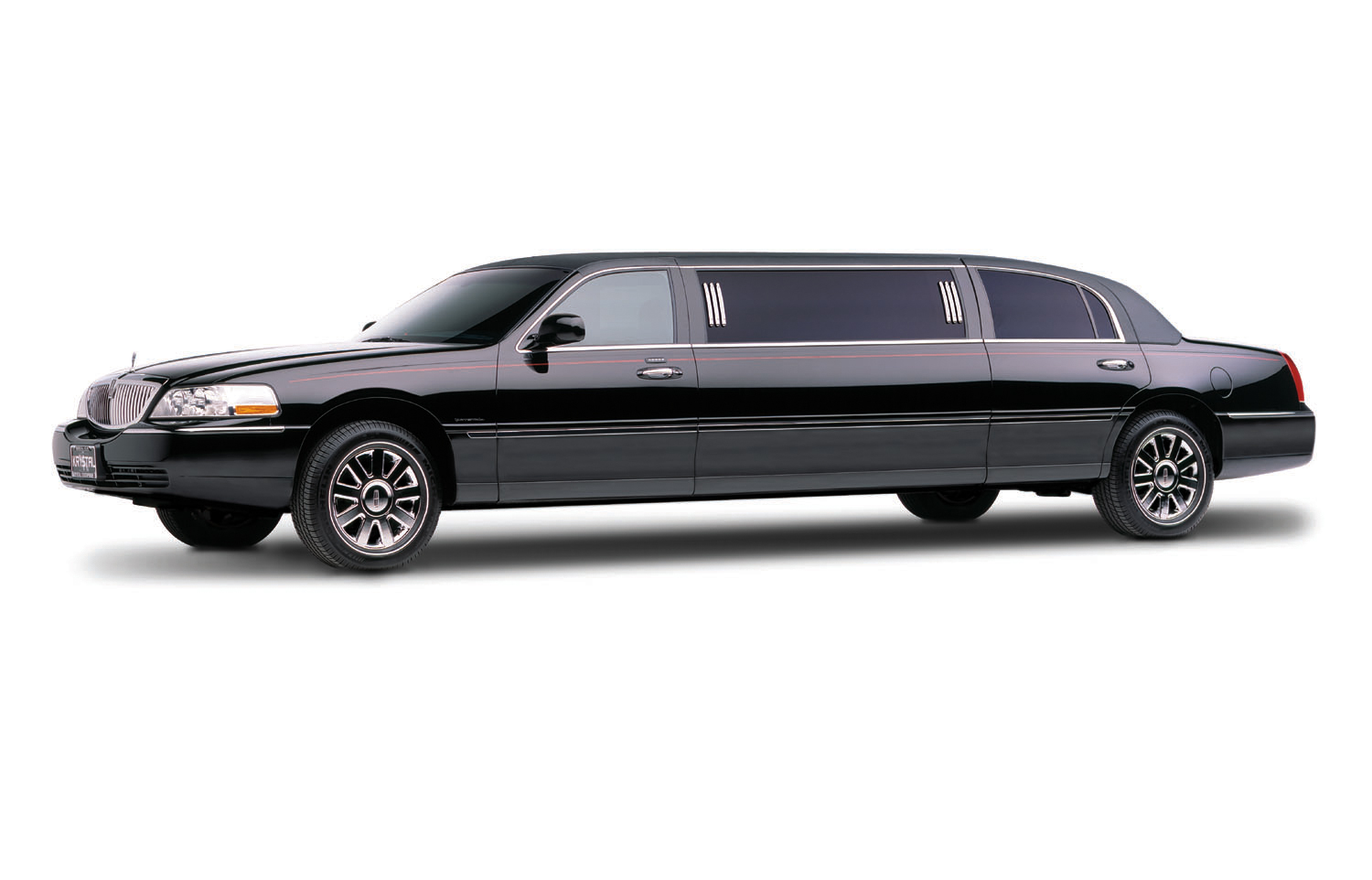 Lincoln Town Car 72 Inch Stretch 6 Passenger Limo Rental Apex