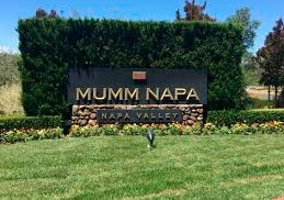 Stop at Mumm Napa sparkling wines