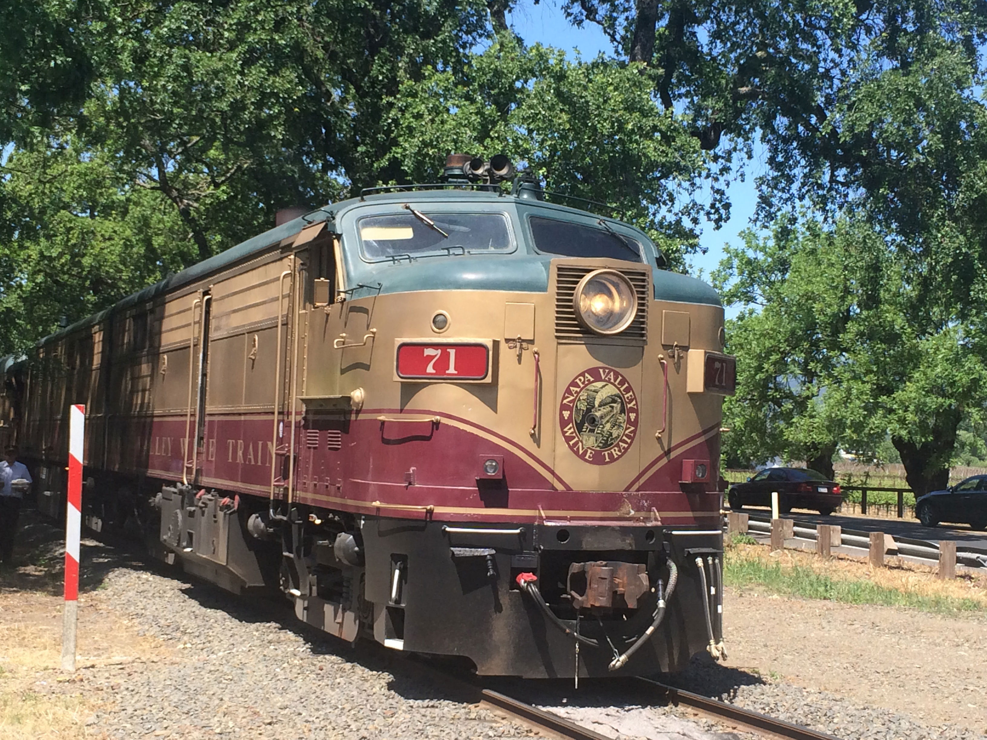 Napa Valley Wine Train Tour